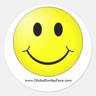 Official GlobalSmileyFace.com Sticker