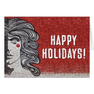 Official Godspell Holiday Card