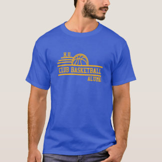 Official H.U. Club Basketball Alumni T-Shirt