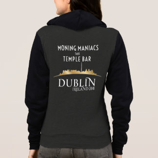 Official High Voltage/Dublin 2018 Hoodie Zip front