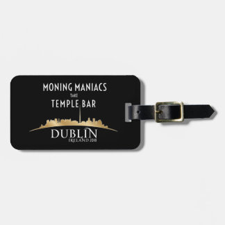 Official High Voltage/Dublin 2018 Luggage Tag