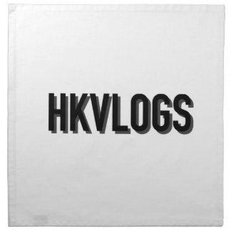 Official HKVLOGS shirt Napkin