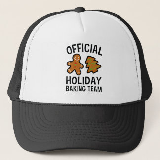 Official Holiday Baking Team Trucker Hat