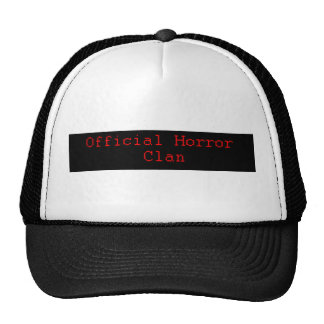 official horror clan hat