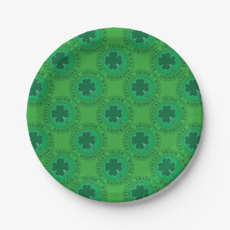Official-Iris-Drinking-Team 7 Inch Paper Plate