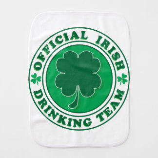 Official-Iris-Drinking-Team Burp Cloth