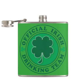 Official-Iris-Drinking-Team Hip Flask