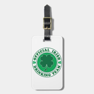 Official-Iris-Drinking-Team Luggage Tag