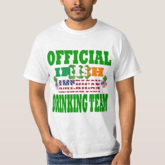 Official   Irish American drinking team Shirts