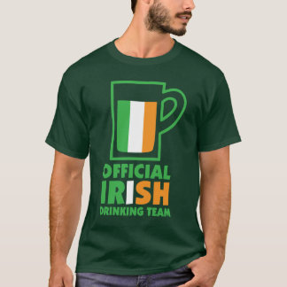 Official Irish Beer Team St. Patrick's Day T-Shirt