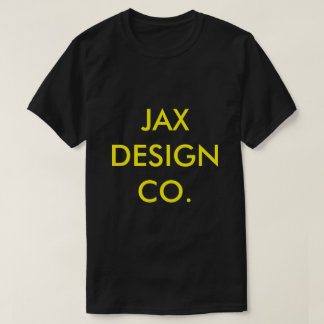 OFFICIAL JAX BRAND SHIRT BLACK AND GOLD TEE