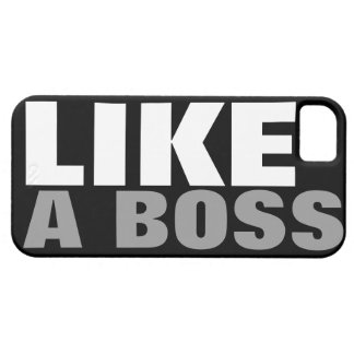 (Official) LIKE A BOSS iPhone 5 Cover