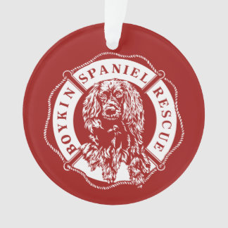 Official Logo Ornament - Red