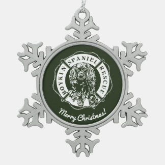 Official Logo Pewter Ornament - Green