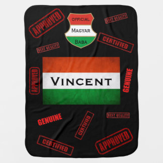 Official Magyar Baba w/Name Personalization Baby Blanket