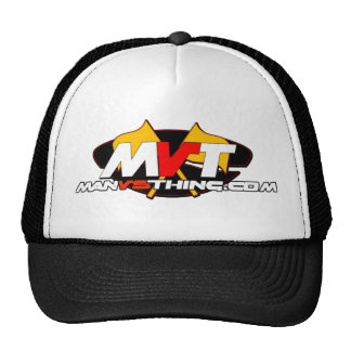 Official Man Vs Thing Logo Mesh Hat