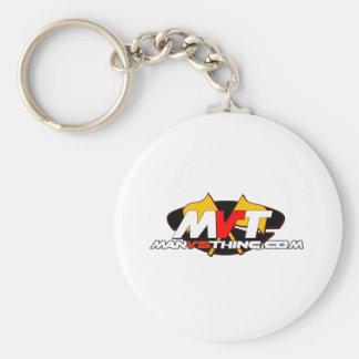 Official Man Vs Thing Logo Key Chains