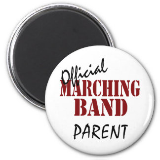 Official Marching Band Parent 6 Cm Round Magnet