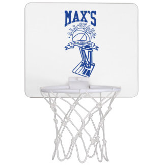 Official Max's All Stars Mini Basketball Hoop