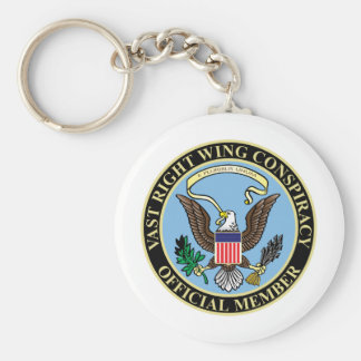 Official Member of The Vast Right Wing Conspiracy Key Chain
