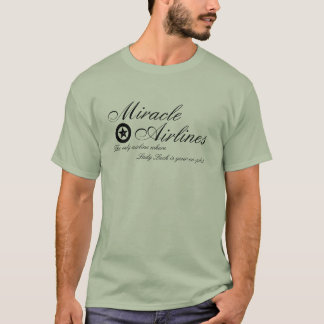 Official Miracle Airlines T-Shirt