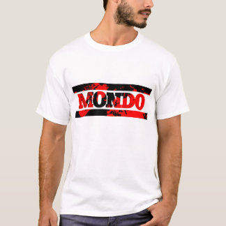 "Official ""Mondo"" design (straps) T-Shirt"