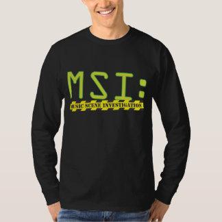 Official MSI: Logo Long Sleeve Tshirts