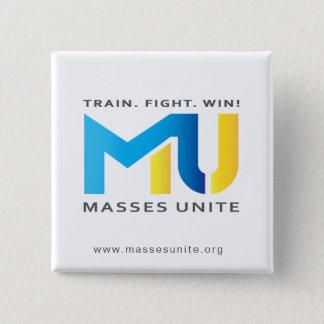 Official MU Button - Train. Fight. Win!