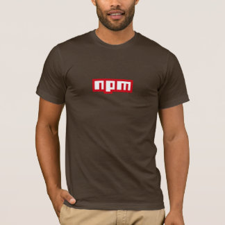 official npm T-shirt