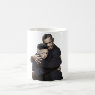 Official Obama Hugging Kim Jong-un Mug