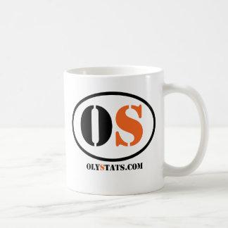 Official Oly Stats Basic White Mug