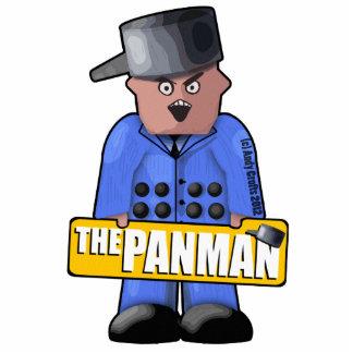 Official Panman Pin Photo Sculpture Badge