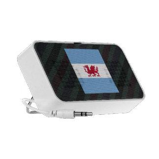 Official Patagonia Flag on stripes Travel Speaker
