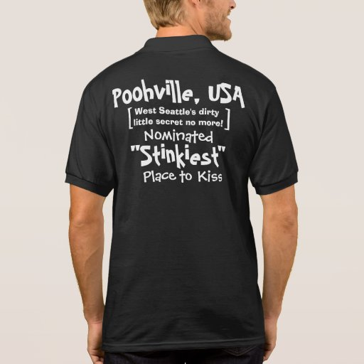Official Polo Shirt for Poohville, USA