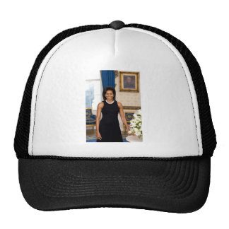 Official Portrait of First Lady Michelle Obama Cap