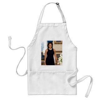Official Portrait of First Lady Michelle Obama Standard Apron