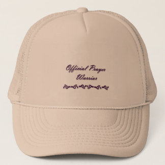 Official Prayer Warrior Trucker Hat