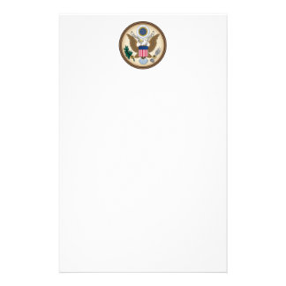 Official Presidential Seal Stationery