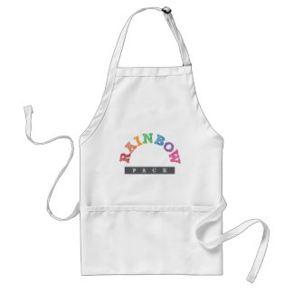 Official Rainbow Pack Merchandise Standard Apron