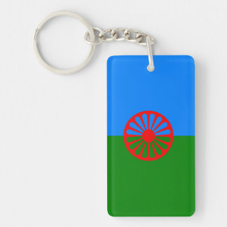 Official Romany gypsy flag Key Ring