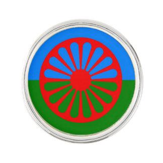 Official Romany gypsy flag Lapel Pin