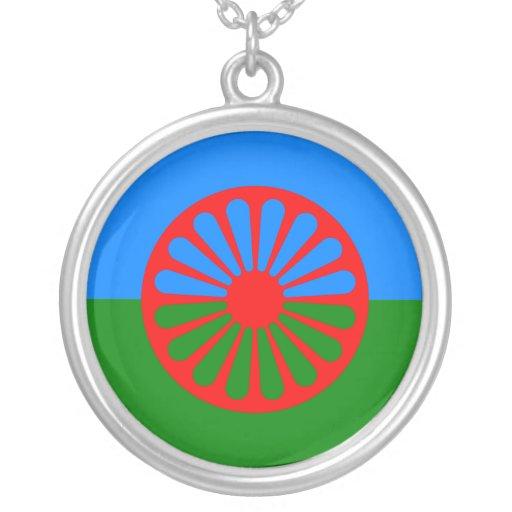 Official Romany gypsy flag Custom Jewelry