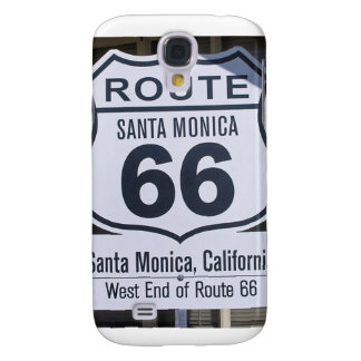Official Route 66 end sign santa monica Samsung Galaxy S4 Cover