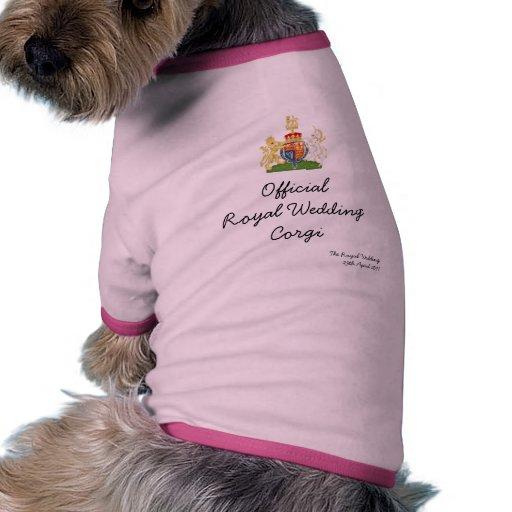 Official Royal Wedding Corgi Pet Shirt