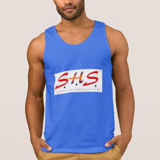 Official S.H.S. Blue-on-Blue Logo Shirt