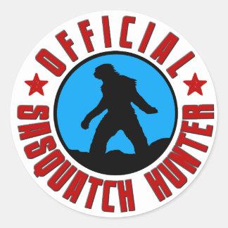 Official Sasquatch Hunter! Bigfoot Member Sticker