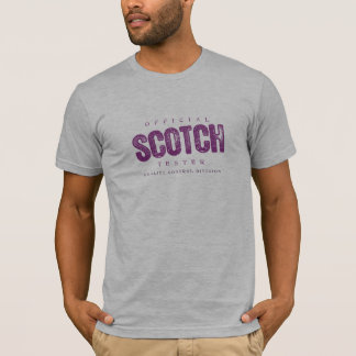 Official Scotch Tester T-Shirt