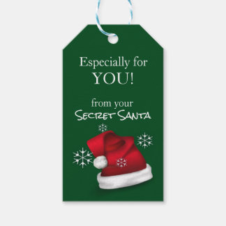 Official Secret Santa Gift Tags