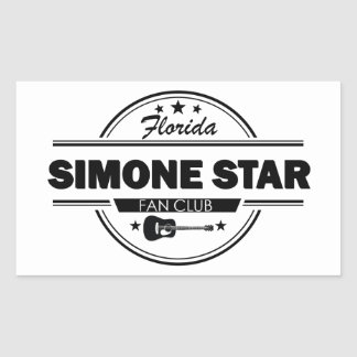 Official Simone Stickers! Rectangular Sticker