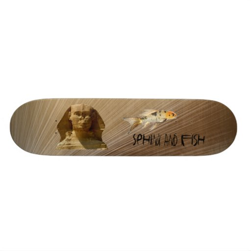 Official Sphinx and Fish Skateboard